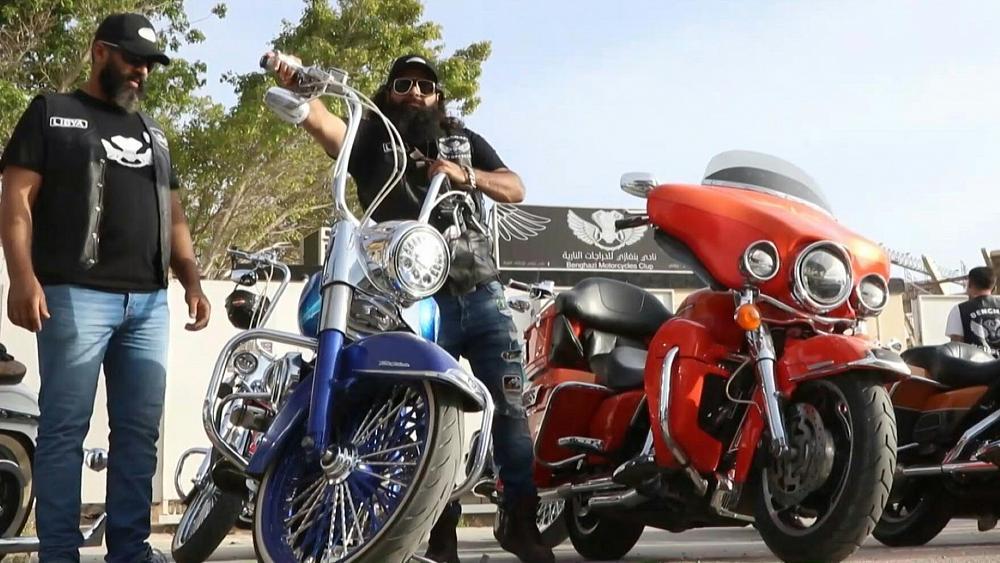 Meet the Libyan biker gang changing perceptions of their city