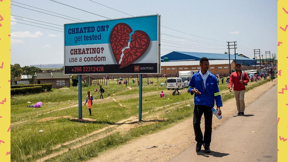 Strong men get tested, says Lesotho teen activist born with HIV